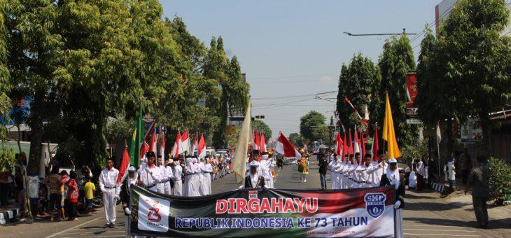 Karnaval Hari Kemerdekaan RI Ke-73 dan Pawai Pembangunan