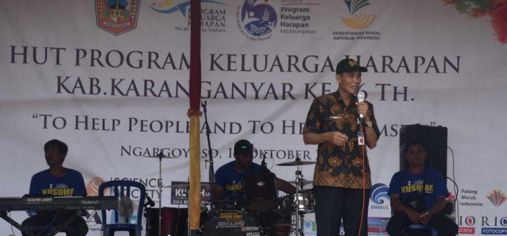 HUT Program Keluarga Harapan Kabupaten Karanganyar