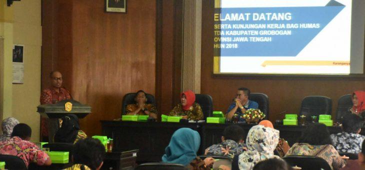 Kunjungan Kerja Wartawan Kabupaten Grobogan, Jawa Tengah
