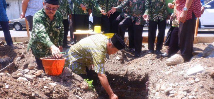 Peletakan Batu Pertama Pendirian Gedung IPPK Kabupaten Karanganyar