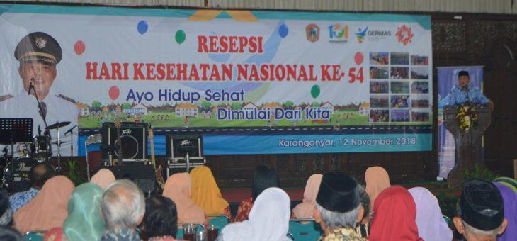 Resepsi Hari Kesehatan Nasional (HKN) Ke-54