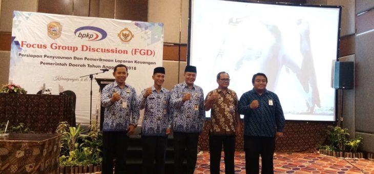 Forum Grup Diskusi Bersama BPK, Bupati harapkan Pemkab Karanganyar pertahankan opini WTP