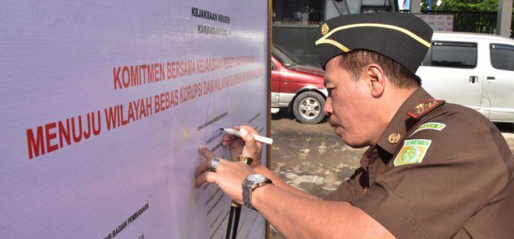 Kejaksaan Bertekad Wujudkan Wilayah Bebas Korupsi dan Birokrasi Bersih Melayani