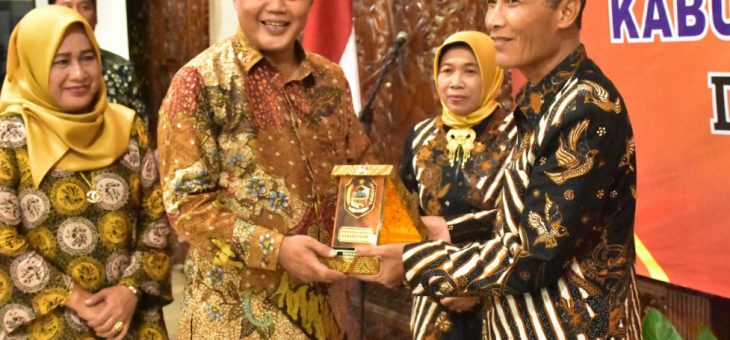 Malam Pelepasan Purna Tugas Sekretaris Daerah Karanganyar Drs. H. Samsi. Msi