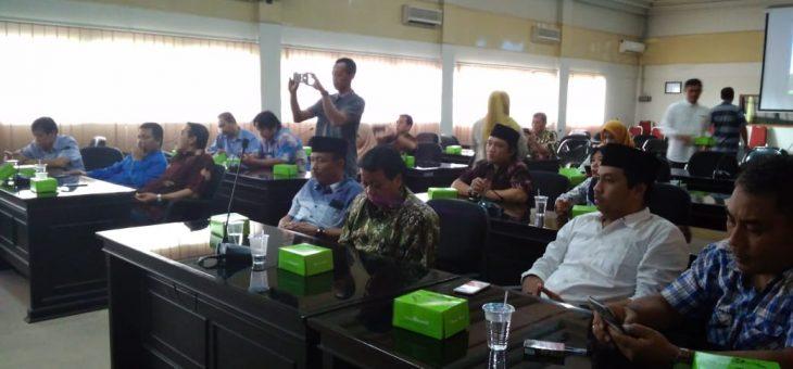 Kunjungan Kerja Komisi A DPRD Kabupaten Bojonegoro Ke Kabupaten Karanganyar