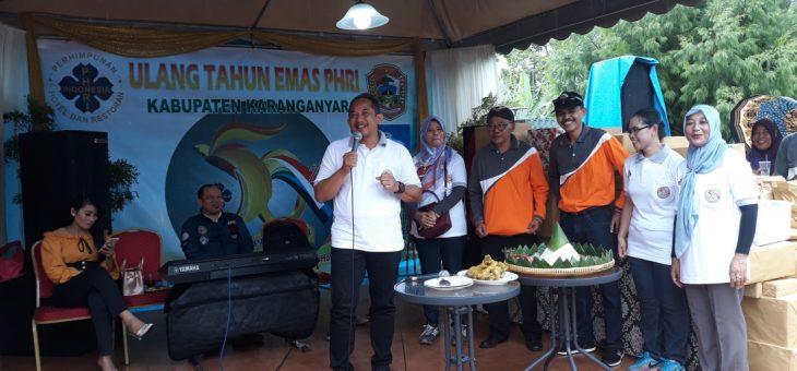 HUT Perhimpunan Hotel Restaurant Indonesia (PHRI) Ke-50