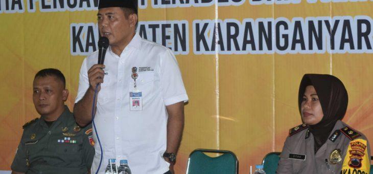 Pemantauan Persiapan Pelaksaan Pemilihan Kepala Desa di Desa Karang, Karangpandan
