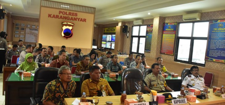 Video Conference Pembahasan giat Millenial Road Safety Festival (MRSF)