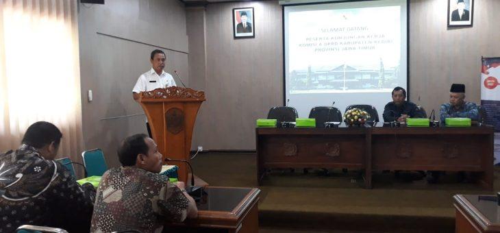 Rombongan Komisi A DPRD Kabupaten Kediri Membahas Sistem Informasi Pemerintahan