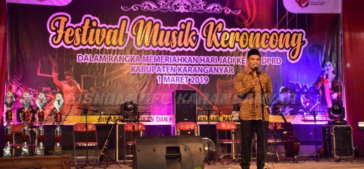 Festival Musik Keroncong Dalam Rangkaian Hari Jadi Ke-68 DPRD Karanganyar