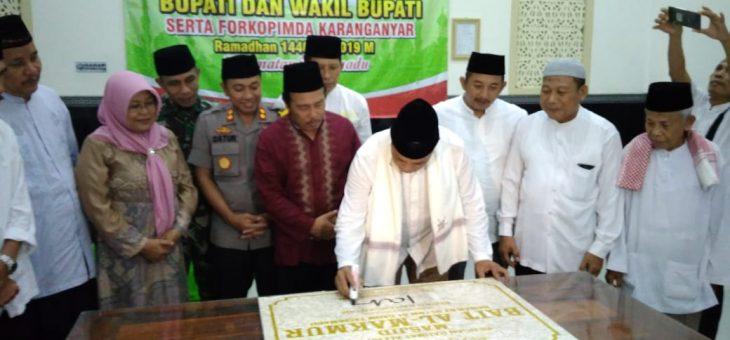 Peresmian Masjid Bait Al-Makmur Di Dusun Dawan, Desa Gaum, Tasikmadu