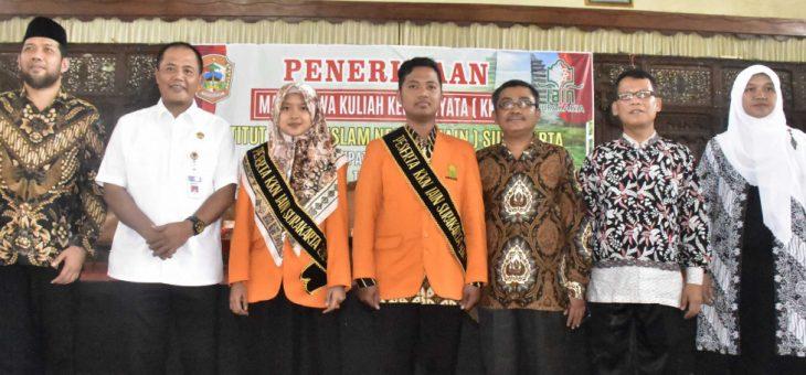 Penerimaan Peserta KKN IAIN Surakarta Di Kabupaten Karanganyar