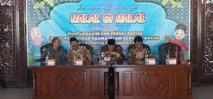 Halal Bihalal dan Peduli Sosial KKG PAI SD Kabupaten Karanganyar