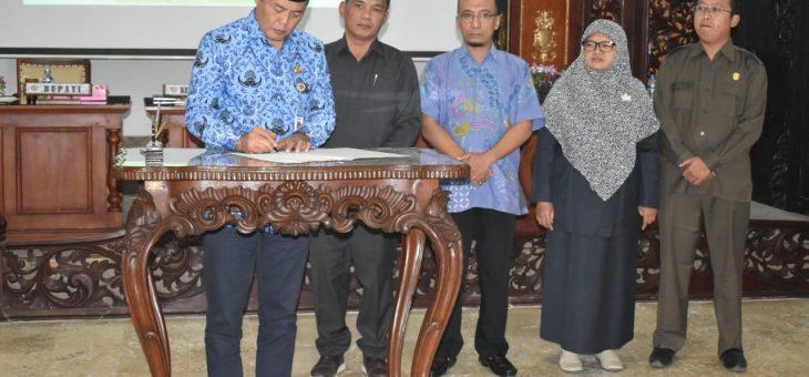 Rapat Paripurna DPRD Kabupaten Karanganyar Masa Sidang III
