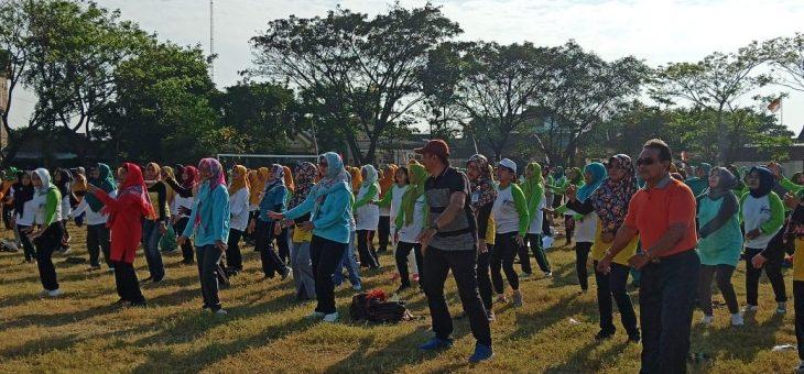 Wakil Bupati Karanganyar Ajak Kader Posyandu Untuk Selalu Bersemangat Dalam Kampanye Germas