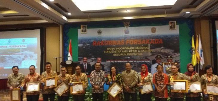 Rakornas Forsakada Staff Ahli Di Tuntut Mampu Memberikan Ide Gagasan Untuk Kemajuan Daerah dan Bangsa