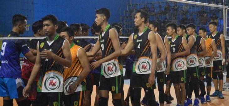 Pemain Pelatnas Ramaikan Gelaran Turnamen Bola Voli Kapolres Cup