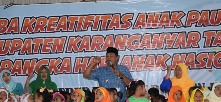 Lomba Kreativitas Anak PAUD Dan TK Di Kabupaten Karanganyar