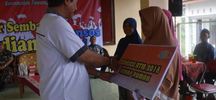 PNPM Kecamatan Tawangmangu sebar 2550 paket sembako
