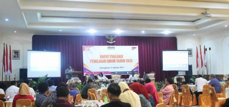 Rapat Evaluasi Penyelenggaraan Pemilu Tahun 2019