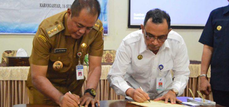 PemKab Karanganyar tanda tangani MOU dengan BPOM