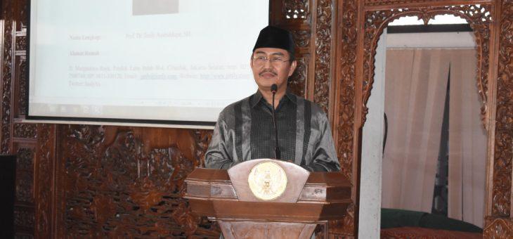 Seminar Peningkatan Ideologi Pancasila Dan Wawasan Kebangsaan Bersama Prof. Dr. Jimly Assidiqie, SH