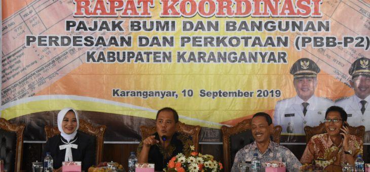Rakor PBB Pedesaan dan Perkotaan Kabupaten Karanganyar