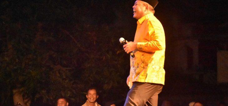 """""""Srikandi Kembar"""" Sukses Hibur Warga Jatipuro Dalam Malam Puncak Upacara Wahyu Kliyu"""