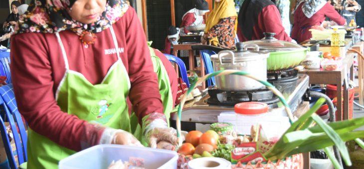 Lomba Masak Ikan Tingkat Kabupaten Karanganyar Oleh DISNAKAN