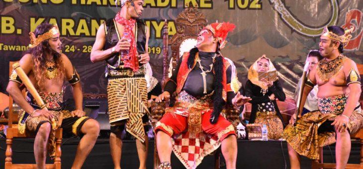 Bupati Juliyatmono : Seni Dan Budaya Menjadi Salah Satu Alat Pemersatu Bangsa
