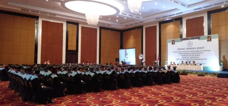Sidang Terbuka Senat Mahasiswa Stikes Mitra Husada