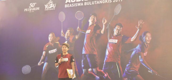 Penutupan Audisi Umum Beasiswa Bulutangkis 2019 di GOR Raden Mas Said Karanganyar