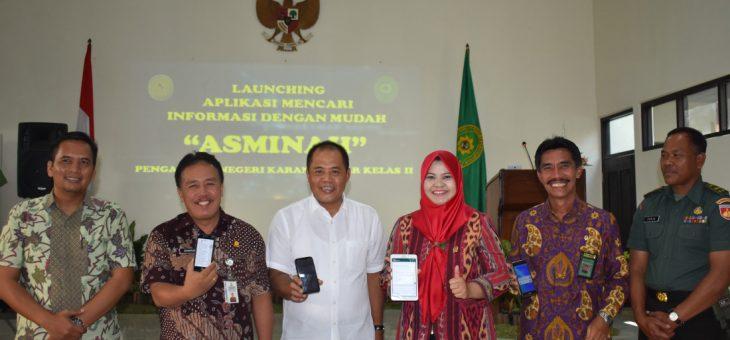 Launching aplikasi mencari informasi dengan mudah ASMINAH