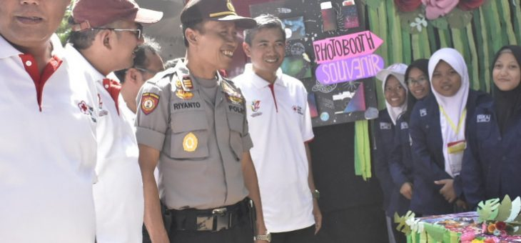 Jumpa Bakti Gembira (Jumpara) PMR ke XII Palang Merah Indonesia (PMI) Karanganyar