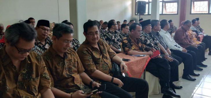 60 Peserta Perhimpunan Jasa Kontruksi Ikuti MUSCAB ke-IX di BPC Gapensi Kabupaten Karanganyar