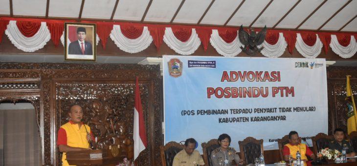Advokasi Posbindu PTM, Pembagian Alat Deteksi Dini Penyakit Tidak Menular Ke 140 Desa Di Kabupaten Karanganyar
