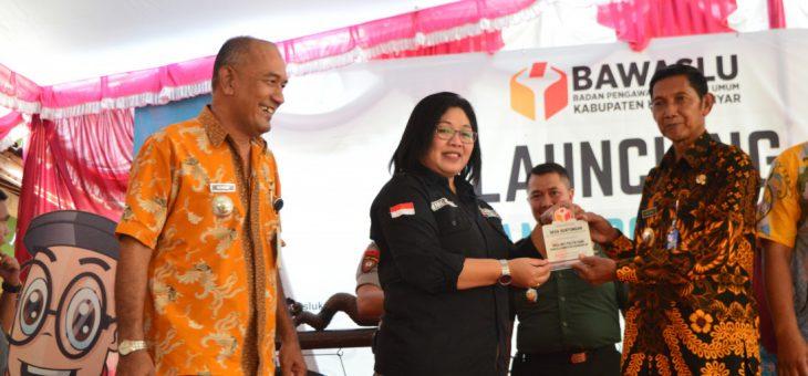 Peluncuran Desa Anti Politik Uang Di Desa Gentungan Kecamatan Mojogedang