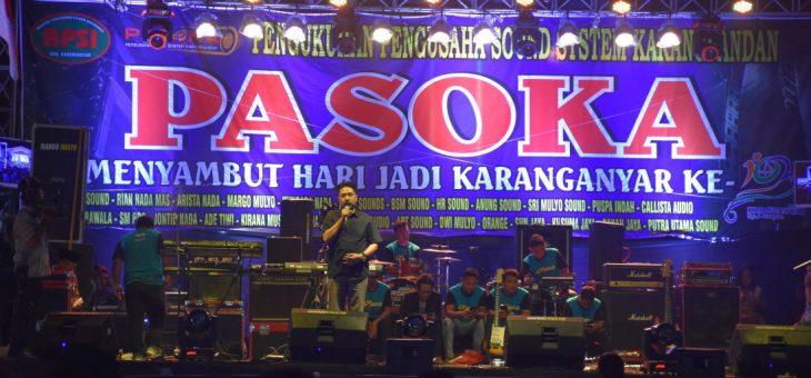 Pengukuhan Paguyuban Sound System Karangpandan (PASOKA)