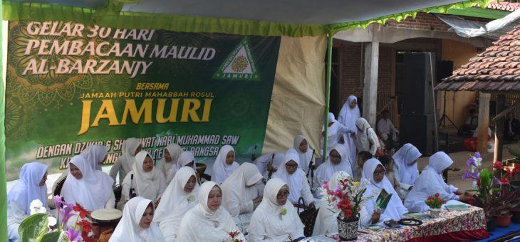Jama'ah Putri Mahabbah Rosul(JAMURI) Gelar Estafet 30 Hari Baca Maulud Al Barzanjy