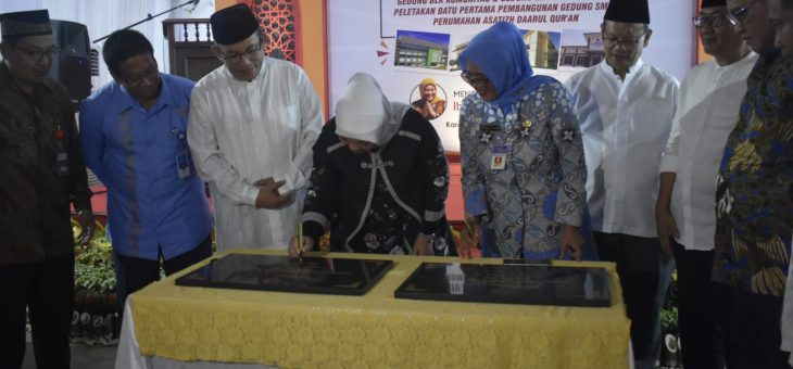 Peresmian Gedung BLK Dan Gedung SMP Daarul Qur'an