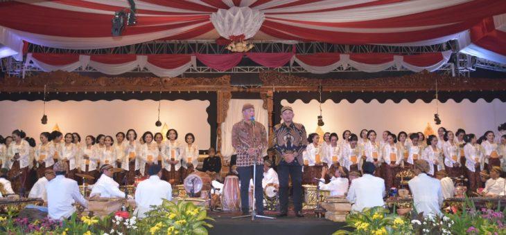 Peringati Hari Jadi Karanganyar, Pemkab Gelar Wayang 17 Dalang dan 102 Sinden