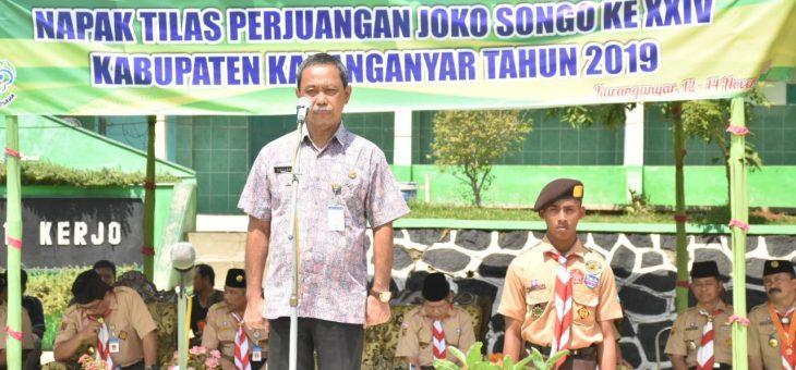 Pembukaan Kegiatan Napak Tilas Perjuangan Joko Songo