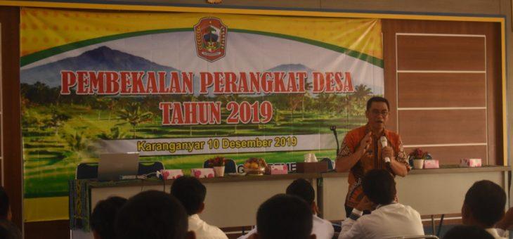 Bimtek Tata Kelola Pemerintahan Desa Di BKK Tasikmadu