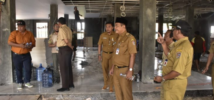 Bupati Sidak Pembangunan Kantor Kecamatan Jatiyoso dan Jumantono