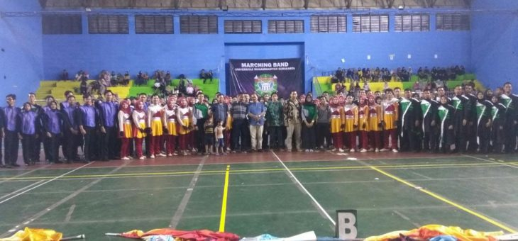 Gelar Konser Pamit, Marching Band UMS Mohon Do'a Restu Goes To Grand Prix Marching Band Piala Presiden 2019
