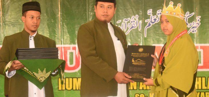 112 Hafidz Cilik Rumah Qur'an Karanganyar Di Wisuda, Bupati Karanganyar Ungkapkan Salah Satu Impiannya