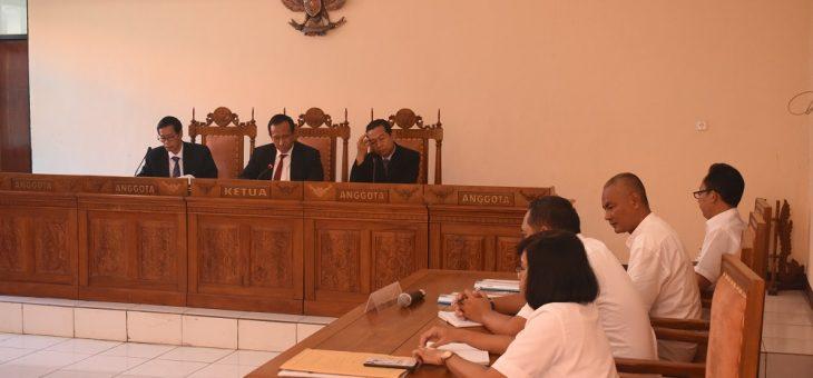 Sidang Putusan Sengketa Informasi Publik Berlangsung di Komisi Informasi Jawa Tengah
