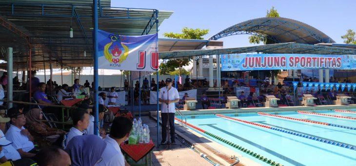 525 Perenang Ramaikan Kejuaraan Renang HUT DPRD Karanganyar