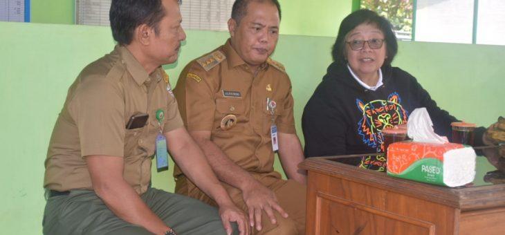 Kunjungan Menteri LKH Ke Kabupaten Karanganyar
