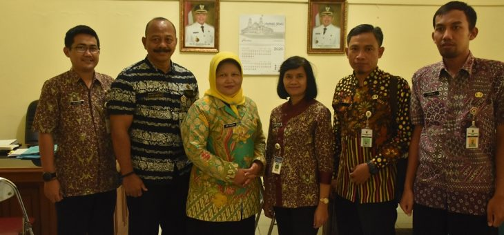 Ingin Tingkatkan Kinerja PPID, Diskominfo Kabupaten Klaten Sambangi Diskominfo Kabupaten Karanganyar